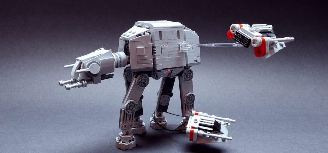 LEGO Star Wars MOC AT-AT vs Snowspeeders