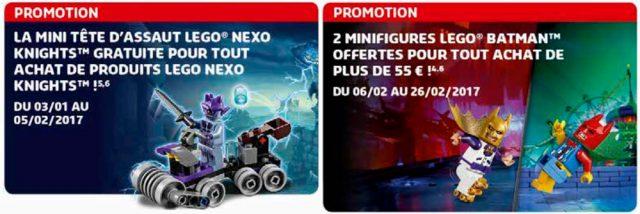 Offres LEGO 2017