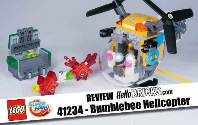 REVIEW LEGO 41234 - DC SuperHero Girls Bumblebee