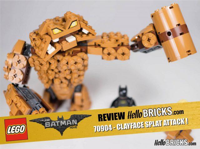 REVIEW LEGO 70904 - The LEGO Batman Movie - ClayFace Attack