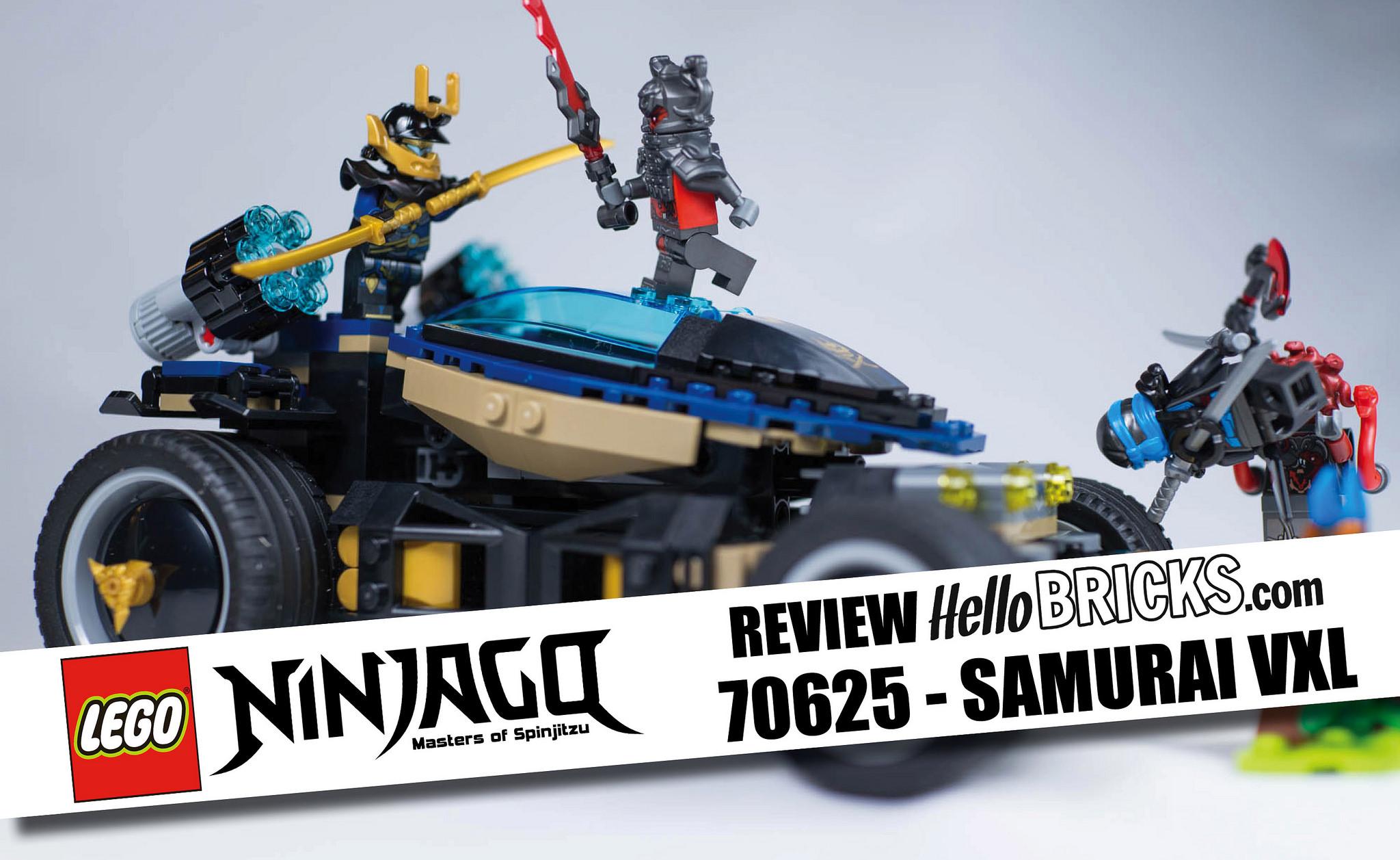 review lego ninjago 70625 samura vxl