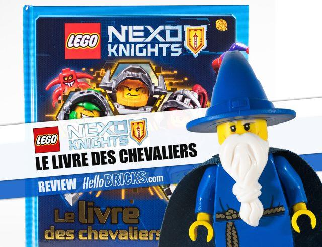Review LEGO Nexo Knights Le Livre des Chevaliers Merlok