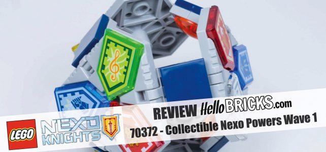 Review LEGO 70372 Nexo Knights récapitulatif Combo Nexo Pouvoirs Série 1