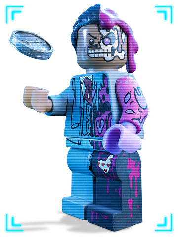 The LEGO Batman Movie - Double Face
