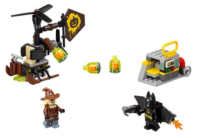 The LEGO Batman Movie Scarecrow Fearful Face-off