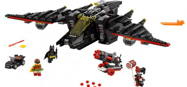 The LEGO Batman Movie The Batwing