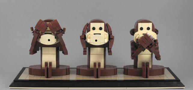 trois singes sagesse