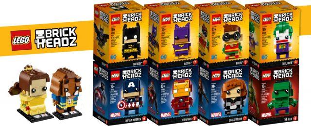 Gamme LEGO BrickHeadz 2017