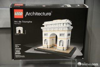 LEGO Artchitecture 21036 Arc de Triomphe