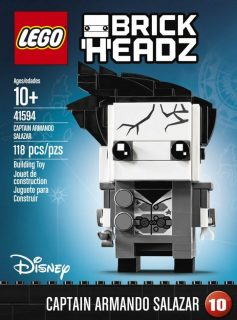 LEGO BrickHeadz 41594 Captain Armando Salazar - Copie