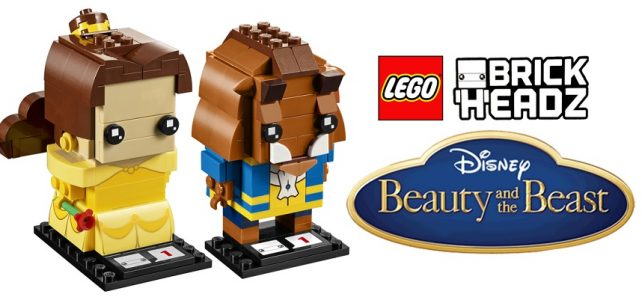 LEGO BrickHeadz 41595 Belle 41596 Beast