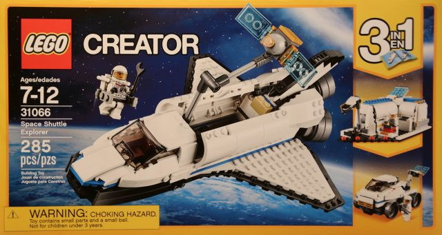 LEGO Creator 31066 Space Shuttle Explorer - New York Toy Fair 2017