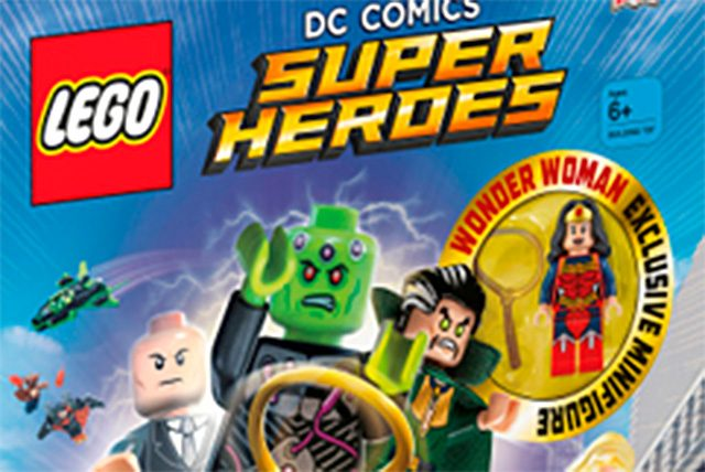 LEGO DC Comics Wonder Woman Post-New 52
