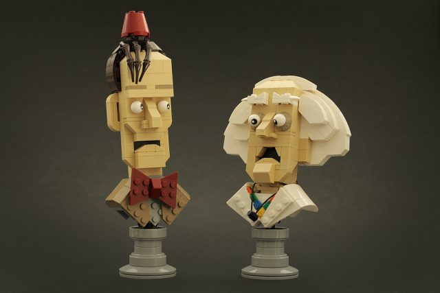 LEGO Doctor Who Doc Brown