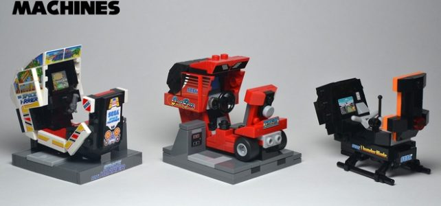 LEGO Ideas SEGA Classic Arcade Machines