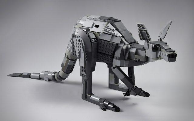 LEGO Kangourou gris, Australie