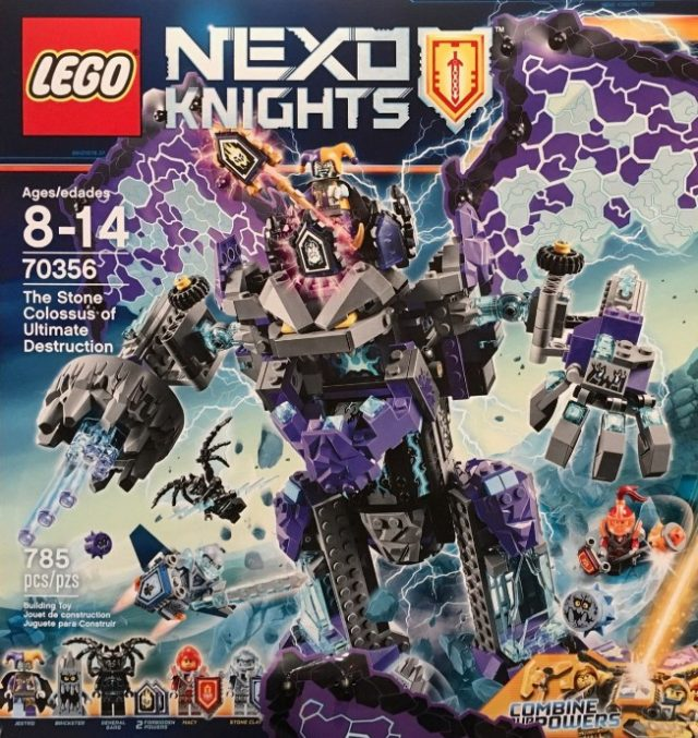 LEGO Nexo Knights 70356 The Stone Colossus of Ultimate Destruction - New York Toy Fair 2017
