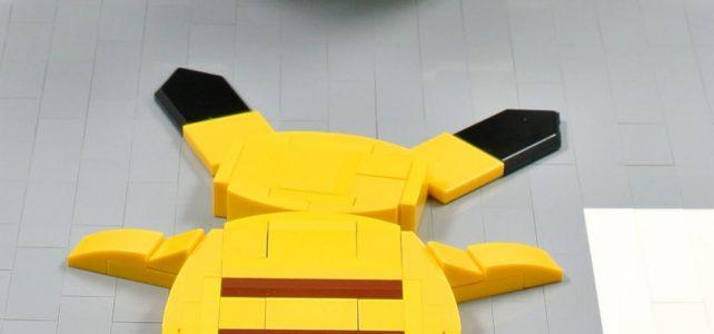 LEGO Pokémon Pikachu Roadkill