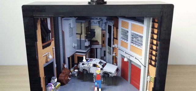 LEGO Retour vers le Futur II TV