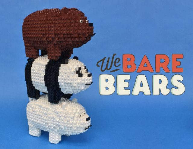 LEGO We Bare Bears Grizz Panda Polaire