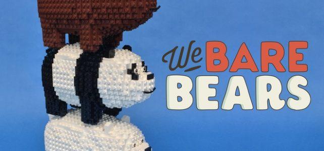 LEGO We Bare Bears Grizz Panda Polaire