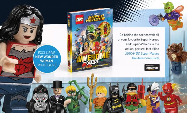Livre LEGO DC Comics Super Heroes The Awesome Guide