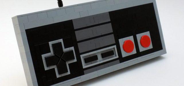 LEGO Nintendo NES controller