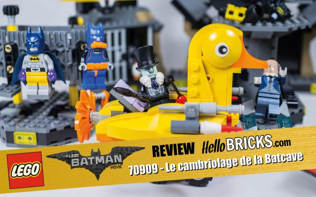 REVIEW LEGO 70909 The LEGO Batman Movie Batcave