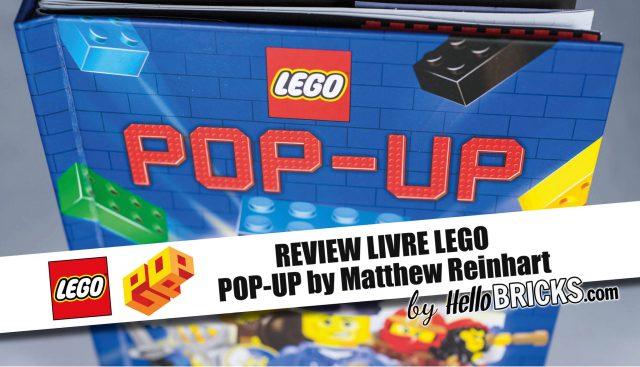 Review Livre LEGO Pop-Up