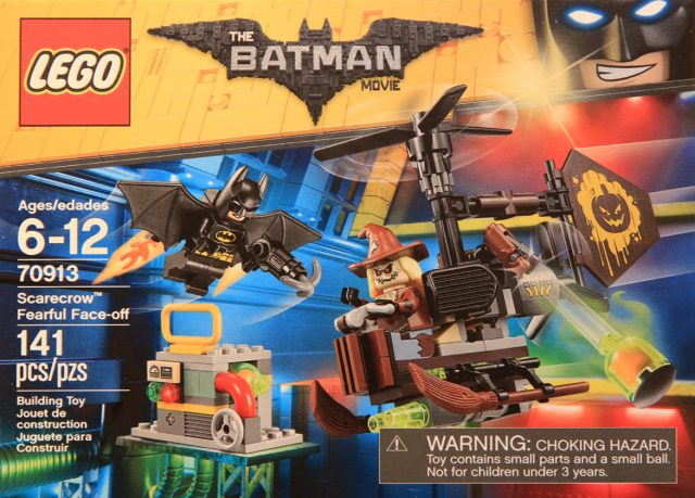 The LEGO Batman Movie 70913 Scarecrow Fearful Face-Off