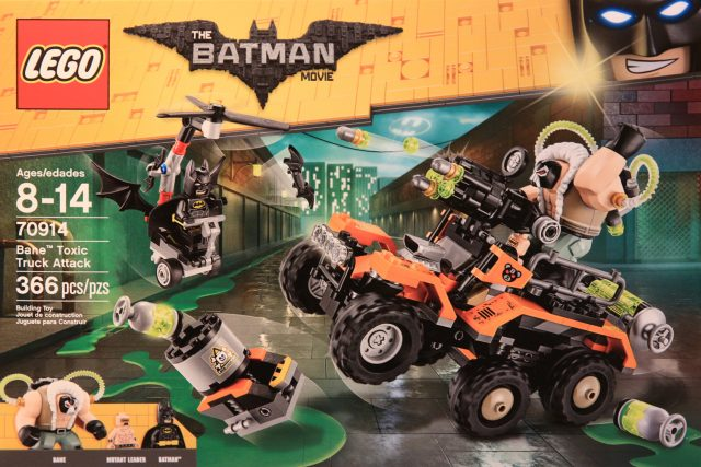 The LEGO Batman Movie 70914 Bane Toxic Truck Attack
