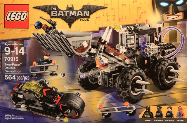 The LEGO Batman Movie 70915 Two-Face Double Demolition