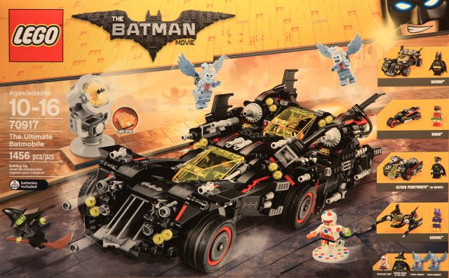 The LEGO Batman Movie 70917 The Ultimate Batmobile