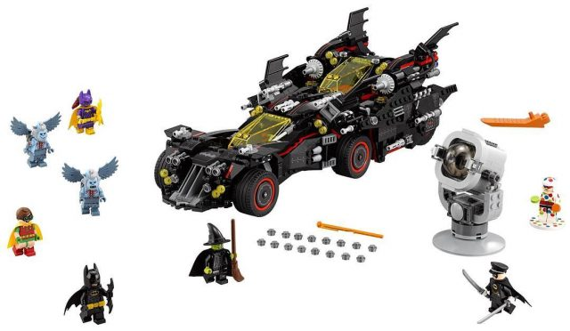 The LEGO Batman Movie LEGO 79017 Ultimate Batmobile