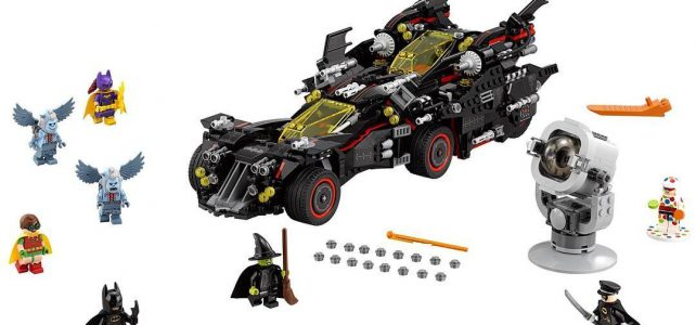 The LEGO Batman Movie LEGO 79017 Ultimate Batmobile