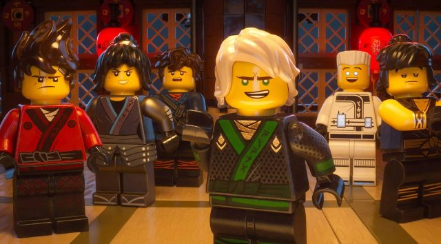 The LEGO Ninjago Movie ninjas