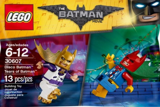 polybag LEGO 30607 Disco Batman & Tears of Batman