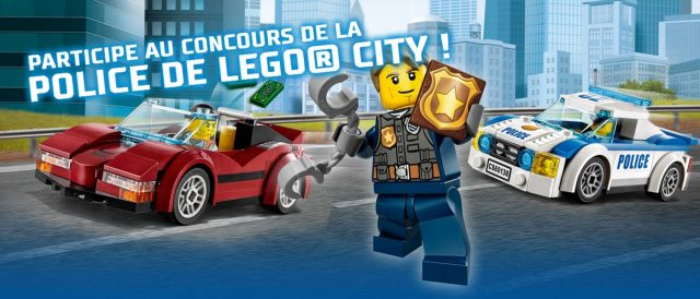 Concours LEGO City Police