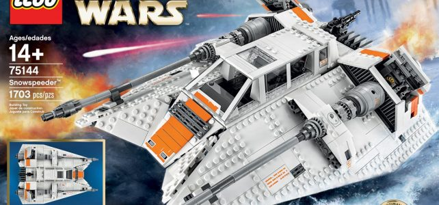 LEGO Star Wars UCS 75144 Snowspeeder : l'annonce officielle