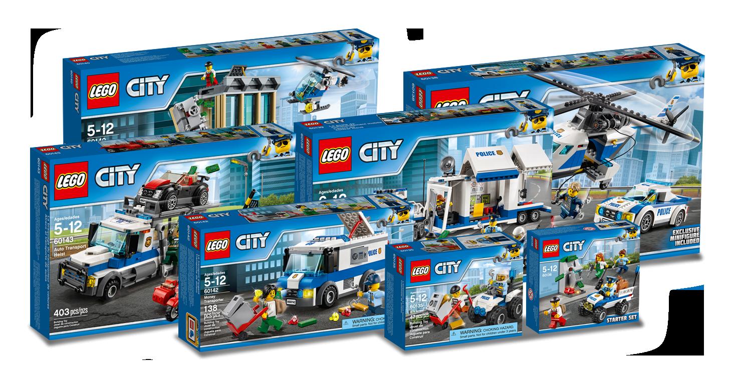 concours lego tentez de gagner la nouvelle gamme lego city police hellobricks blog lego. Black Bedroom Furniture Sets. Home Design Ideas
