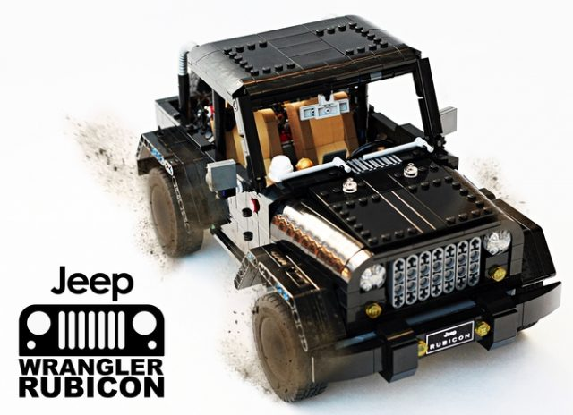 LEGO Ideas Jeep Wrangler Rubicon
