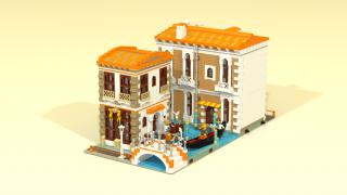 LEGO Ideas Venetian Houses Venise