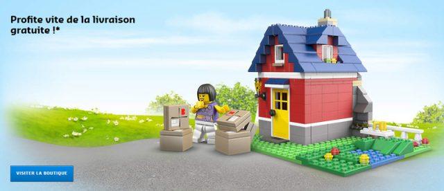LEGO Livraison gratuite