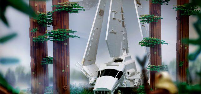 LEGO Star Wars Imperial Shuttle Tydirium Endor