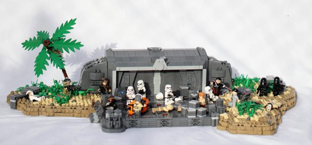 LEGO Star Wars MOC Battle on Scarif