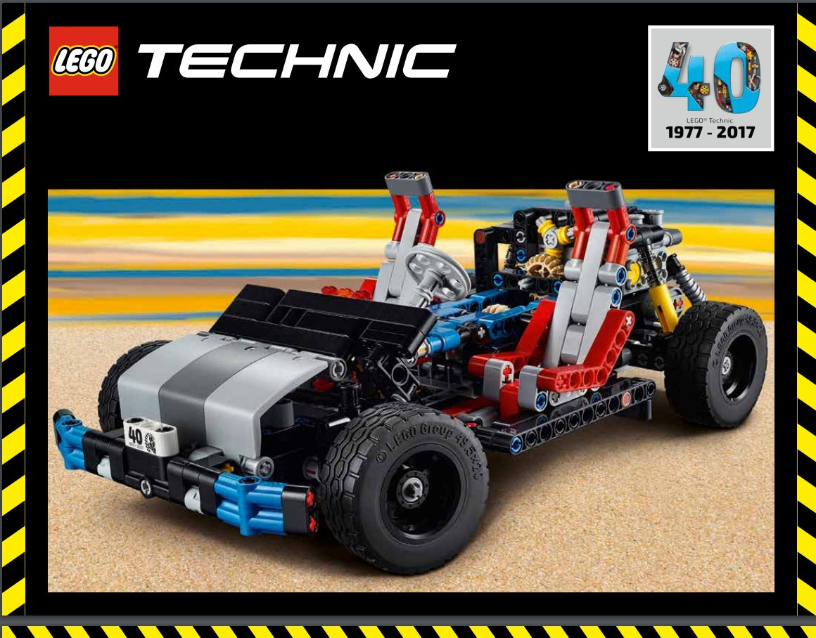 lego technic 40 me anniversaire les instructions du mod le collector hellobricks blog lego. Black Bedroom Furniture Sets. Home Design Ideas