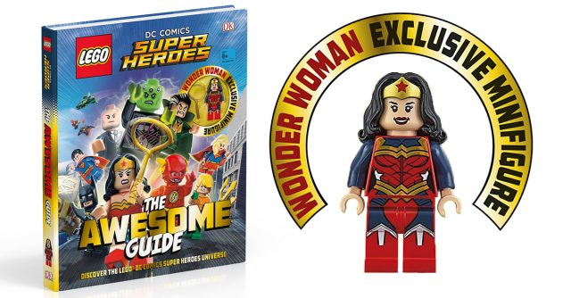 LEGO DC Comics Super Heroes The Awesome Guide Wonder Woman