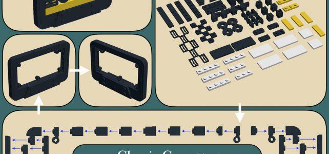 LEGO cassette audio instructions
