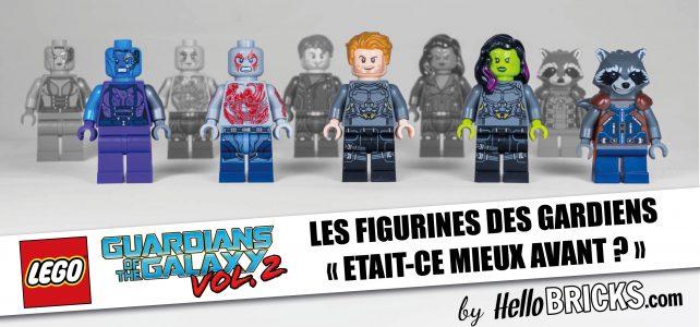 LEGO - Figurines des Gardiens de la Galaxie - C'était mieux avant ?
