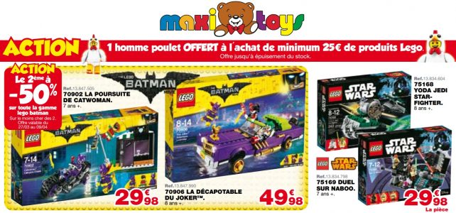 Promotion Maxi Toys LEGO Batman Movie